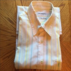 Yves Saint Laurent Men's Shirt Size 40